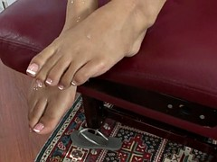 Hot Girl With Awesome Feet Rides Dick