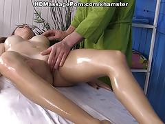Very private massage for hot Olivia scene 2
