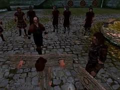 Perils of escaped Skyrim slavegirl 17