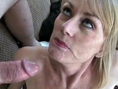 Two Cocks For Horny MILF Melanie