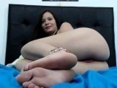 Ammy teem footfetish soles toes
