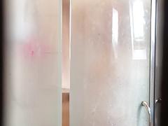 Irish wife in shower 2