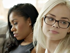 BLACKED Elsa Jean Takes Her First BBC