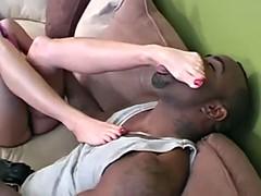 interracial footfetish