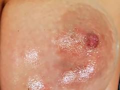 Prime Cups Amazing tit masturbation and sexy oil tit rubdown