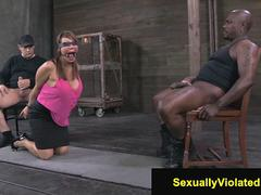 Helpless MILF Ava Devine is bounded