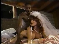 White Bride Black Cum cannon
