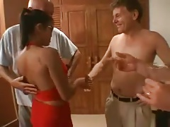 Thailand Sex Party with  Mature men
