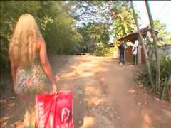 Ash-Blond Brazilian IR anal invasion vignette