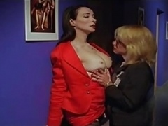 Linnea Quigley & Eileen Daly