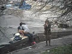 Любители, Русские, Подглядывание