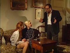 イタリア人, 淫乱熟女, 三人, ヴィンテージ