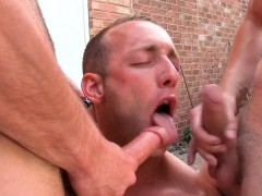 UK bloke assfucked in group outdoors