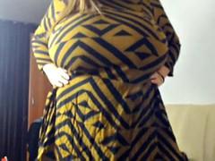 Belle grosse femme bgf, Gros seins, Voyeur