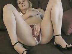 Crotchless panties play