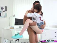 Horny Luna Rival loves big cock in her tight ass