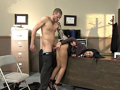 Anal Creampie As A Evidence In The Case - Madison Parker