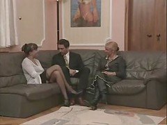 Granny And furthermore Sexually available mom In Stockings Fuc