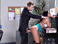 Latina Slut at Work