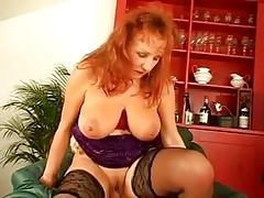 Hot milf and her younger lover 718