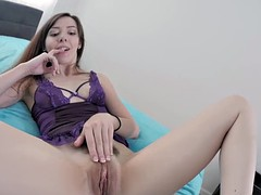 Stepdaughter pleases her daddy