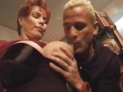 Redhead-Shorthair Milf Smoking-Fetish-Fuck