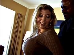 Busty Milf Sara Jay addicted to BBC