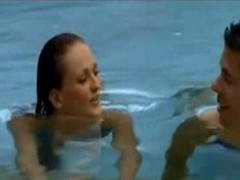 Donna Marie Has Sex In A Public Pool