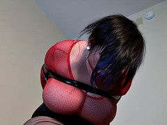 Chubby girl in bondage 2