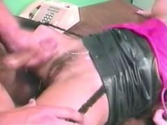 aja leather skirt