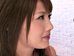 Petite japanese pornstar Mei Aso facialized