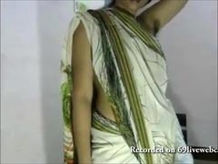 Poilue, Indienne, Webcam