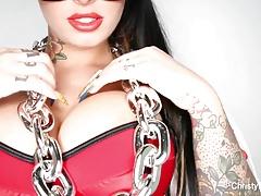 Busty Christy Mack's sexy music video tease