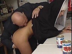 Nun And moreover Dirty Grown-up Man - Soft