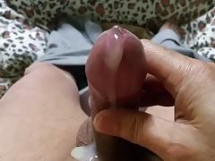 morning shaving cock and cumshot90