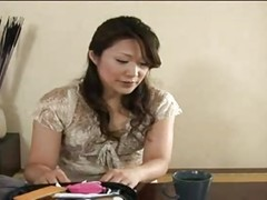 Asian Lady-boy Milks Her Jugs And