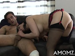 Mature yearns for hardcore fur pie stimulation and pounding