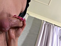 Two Charming Girls Take Care Of Cock