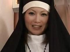 Creaming Inside The Nun