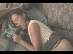 White wife has an intercourse bbc in front of hubby