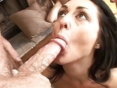 Eager mom swallow #1