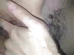 Amateur Chinese strip panties n masturbates