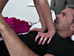 Daughter fucking reverse cowgirl