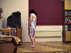 Russian Wife crazy erotic dance
