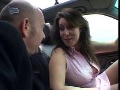 Awesome pornography in car