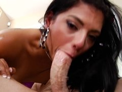 Gorgeous girls satisfied lucky buddy with an amazing blowjob