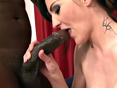 Black Cocks fuck White Pussies and Assholes Interracial Sex