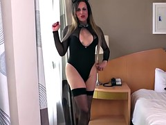 Fernanda curvaceous glamor hot solo transgirl khelher