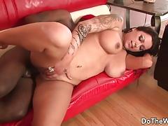 Pornstar wife loving black dick
