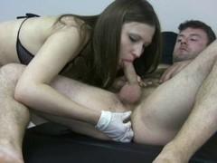 Prostate Massage Suckoff Handjob